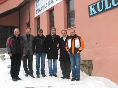 Erzurum'un minikleri pistte!.. 15