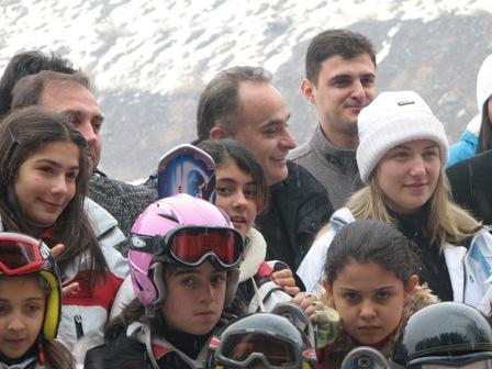Erzurum'un minikleri pistte!.. 2