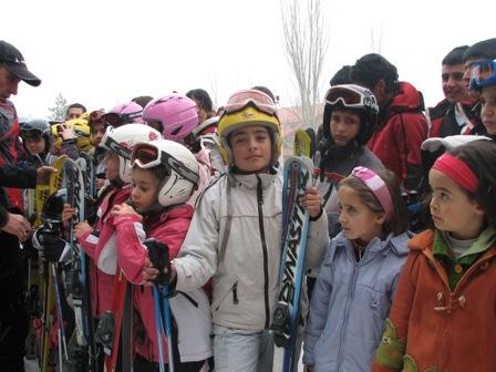 Erzurum'un minikleri pistte!.. 3