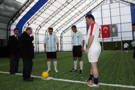 Karaçoban'a spor tesisi!.. 2