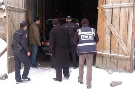 Erzurum'da balyozlu operasyon 5