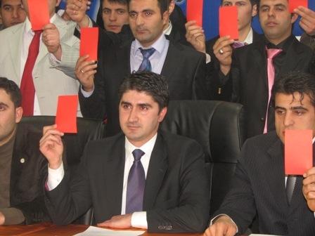 AKP'li gençlerden Akdağ'a destek!.. 3