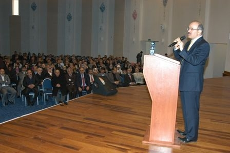 Çelik Erzurum'da neler anlattı!.. 1