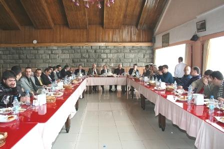Erzurum Valisi Basınla buluştu! 1