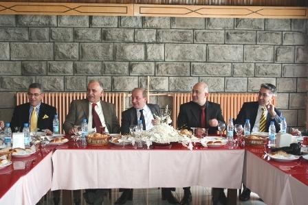 Erzurum Valisi Basınla buluştu! 2