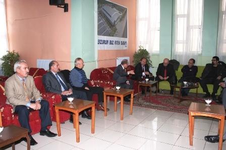 Erzurum Valisi Basınla buluştu! 5