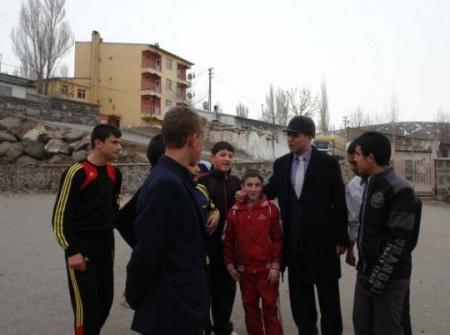 Erzurum'un farklı başkanı!.. 2