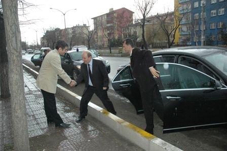 Erzurum Valisi ziyarete gitti!.. 1
