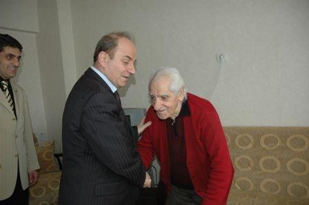 Erzurum Valisi ziyarete gitti!.. 2