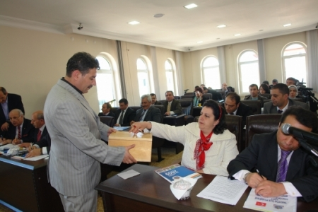 Yakutiye meclisinde seçim yapıldı 3