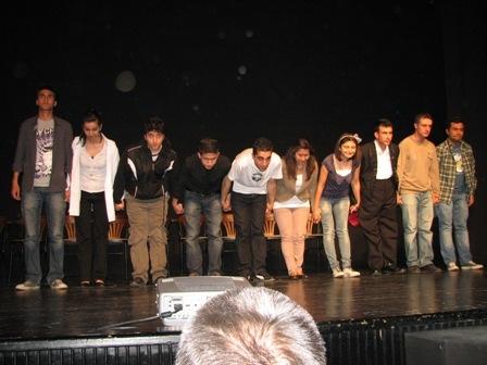 Erzurum'da Polis ve DT'den tiyatro 4
