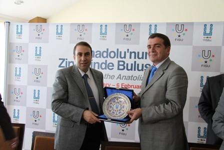 Erzurum'da işbirliği ziyareti! 1