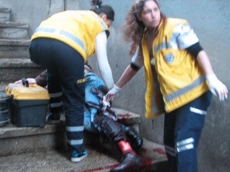 Erzurum iki kişi bıçaklandı 2