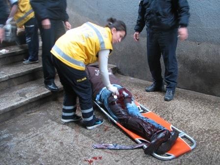 Erzurum iki kişi bıçaklandı 3