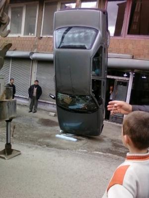 Erzurum'da görülmedik kaza! 1