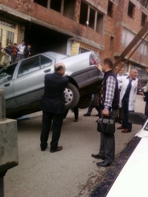 Erzurum'da görülmedik kaza! 4