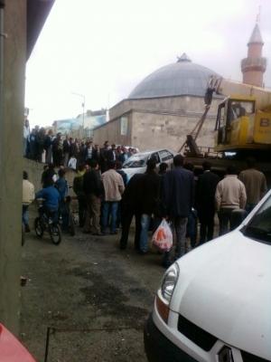 Erzurum'da görülmedik kaza! 5