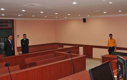 İşte Erzurum'daki duruşma salonu 2