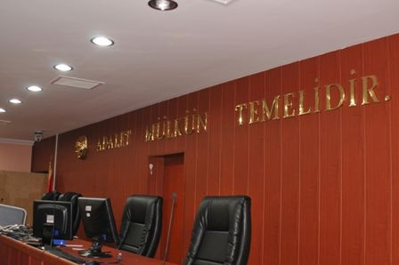 İşte Erzurum'daki duruşma salonu 3
