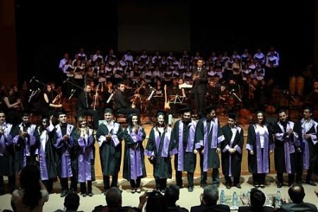 Erzurum'da Orkestra-Koro Konseri 1