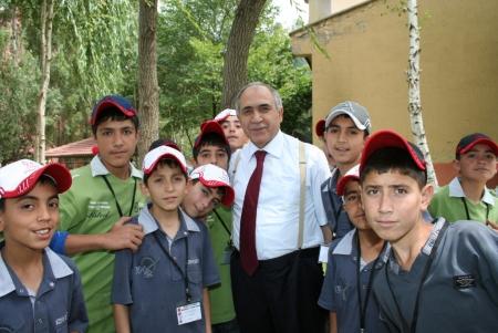Erzurum'a kampa geldiler! 1