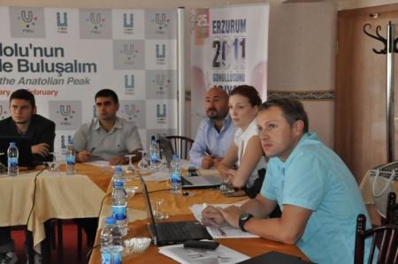 Erzurum'u inceleyip gittiler!... 2