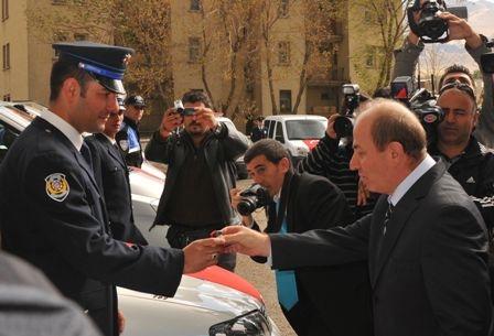 Erzurum polisine 2011 desteği 4