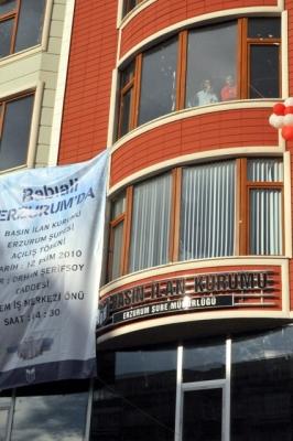 Şahin, Erzurum'da DAGC'ni tanıdı! 2