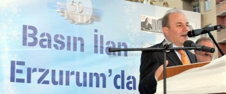 Şahin, Erzurum'da DAGC'ni tanıdı! 4