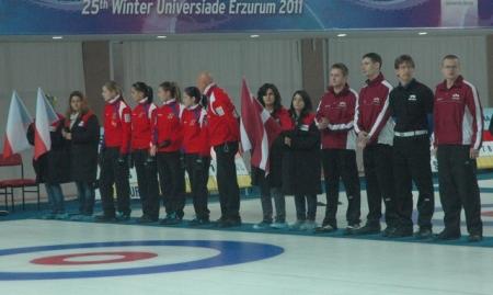 Öztürk'te Curling oynadı 2
