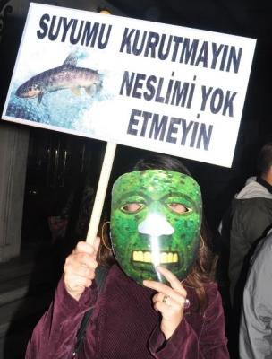 Erzurum'da HES suskunluğu! 3