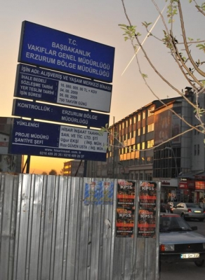 Erzurum'da bu rezalet sürecek 4