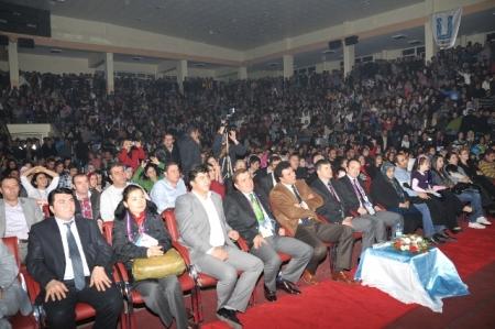 Erkal'de geldi Erzurum'a! 2