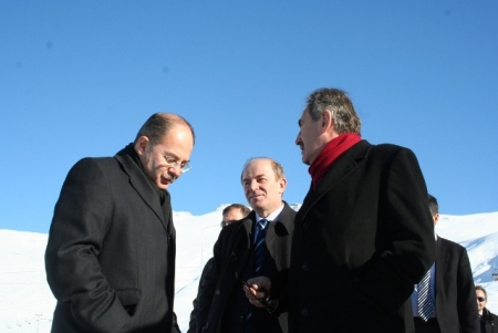 Üç bakan Erzurum'daydı!... 5