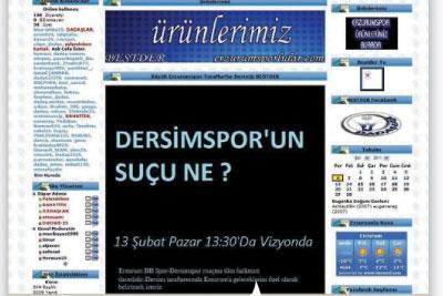 Neymiş Dersimspor'un suçu? 1