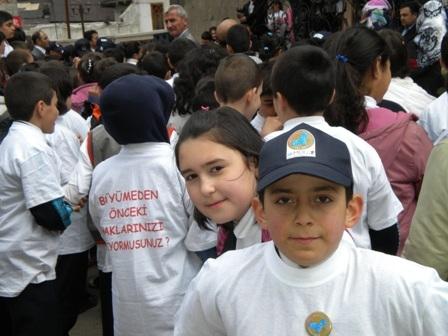 Çocuklar Erzurum'a ulaştı! 3