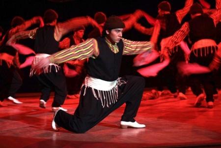 Erzurum'da dans gösterisi! 1