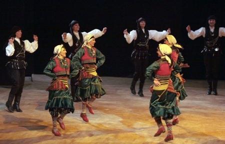 Erzurum'da dans gösterisi! 5