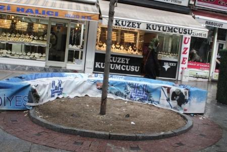 Erzurum'da esnaf böyle bitirildi 2
