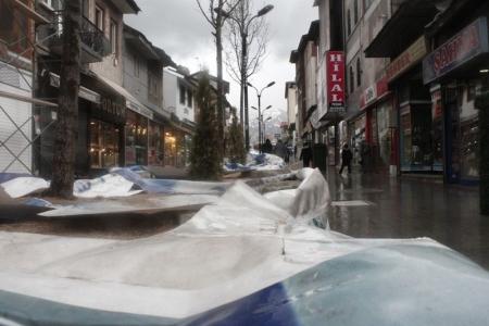 Erzurum'da esnaf böyle bitirildi 7