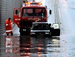 Erzurum yağmura esir oldu! 1
