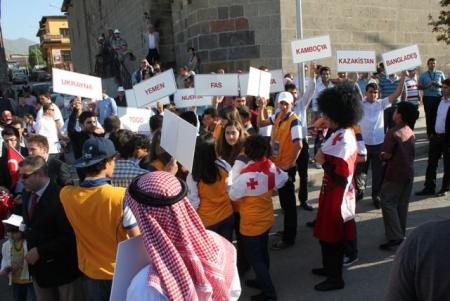 Erzurum'da Büyük ilgi gördüler! 2