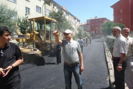 Şükrü Paşa ve Sanayiye asfalt! 2