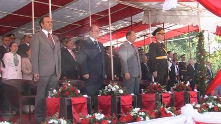 Törenlere Bakan Akdağ'da katıldı 1