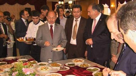 Törenlere Bakan Akdağ'da katıldı 9