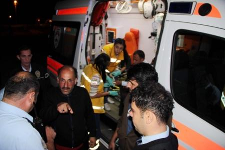 Beş kişi yaralandı! 3