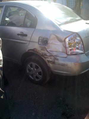 Otomobille çarpıştı: 2 yaralı 3