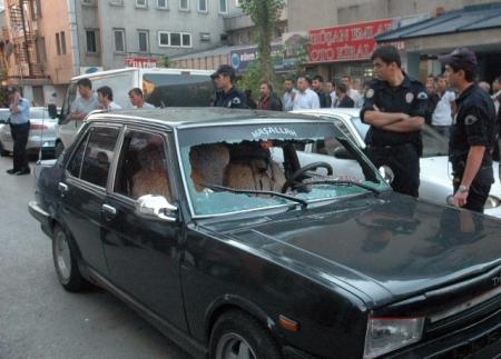 Biri polis 4 kişi yaralandı! 1