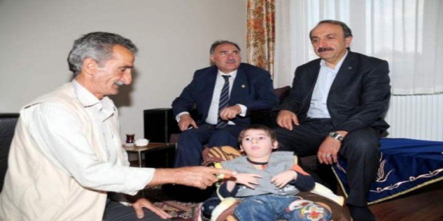 Erzurum'un sevgisini kazandı!