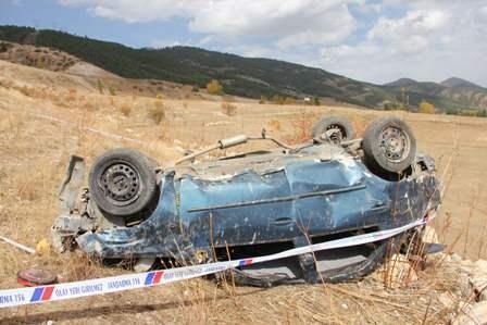 Trafik kazası: 2 ölü 2